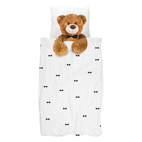 Snurk Beddengoed Duvet Teddy Bear 140x200 / 220 cm incl pillowcase 60x70cm