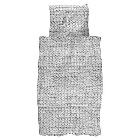 Snurk Beddengoed Duvet Twirre grau 3 Größen