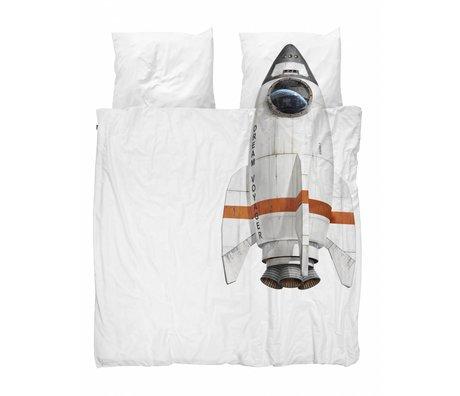 Snurk Beddengoed Rakete Duvet 200x200 / 220 einschließlich zwei Kissen- 60x70cm