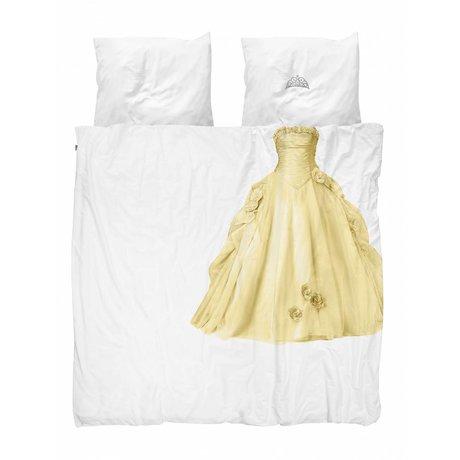 Snurk Beddengoed Bettbezug Prinzessin gelb 200x200 / 220cm
