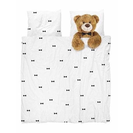 Snurk Beddengoed Dekbedovertrek Teddy Bear 200x200/220 cm incl kussensloop 60x70cm
