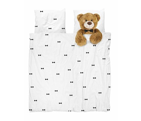 Snurk Beddengoed Duvet Teddy Bear 240x200 / 220 cm incl pillowcase 60x70cm