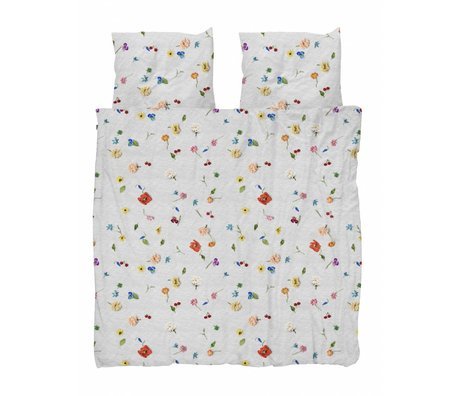 Snurk Beddengoed Housse de couette Fleur tricotée 200x200 / 220cm