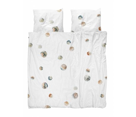 Snurk Beddengoed Duvet cover PomPom 240x200 / 220 incl 2 pillowcases 60x70cm