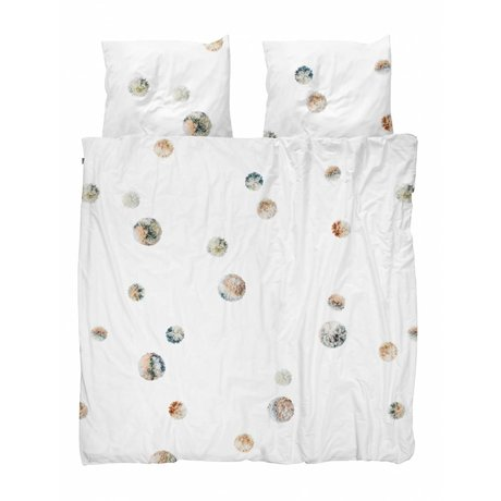 Snurk Beddengoed Duvet cover PomPom 260x200 / 220 incl 2 pillowcases 60x70cm