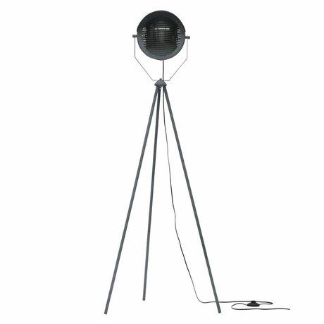 WOOOD Vloerlamp Lester beton grijs metaal 65x65x155cm