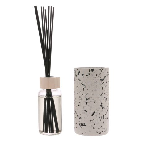 HK-living Bâtons de parfum Terrazo April Ø8,2x25,5cm