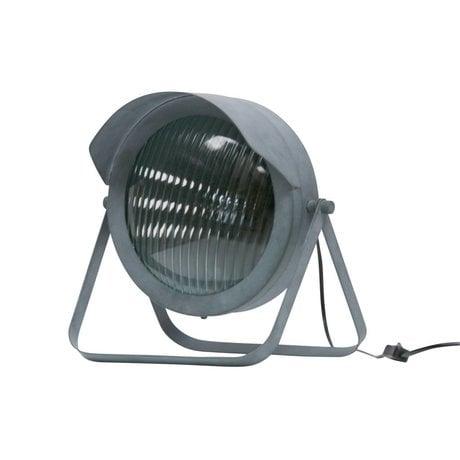 WOOOD Tafellamp Lester beton grijs metaal 31x27x34cm