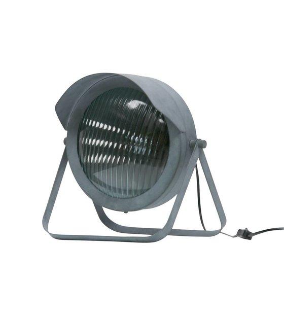 WOOOD Tafellamp Lester beton grijs metaal 31x27x34cm Wonen