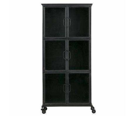 LEF collections Case jari black metal 63,5x37,5x142cm
