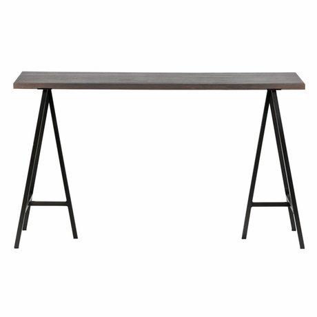 Buro Aron gray wood 130x53x75cm