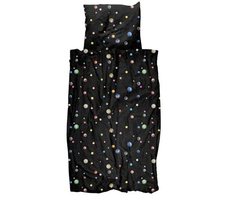 Snurk Beddengoed Bettbezug Marble Universe mehrfarbige Baumwolle 140x200 / 220cm - inkl. Kissenbezug 60x70cm