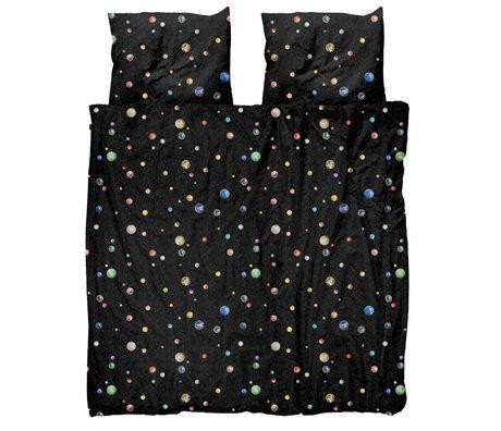 Snurk Beddengoed Duvet cover Marble Universe multicolour cotton 260x200 / 220cm - incl. Pillowcases 60x70cm