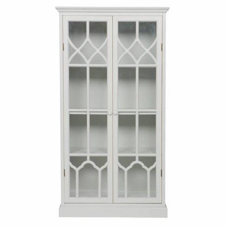 BePureHome Display cabinet Fresco lacks wood 81x41x155cm