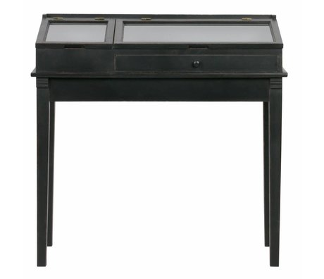 BePureHome Sidetable Herritage black wood 101x46x98cm