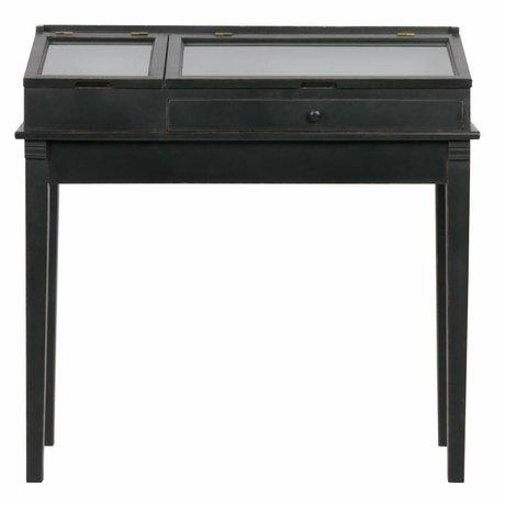 BePureHome Beidetisch Herritage schwarz Holz 101x46x98cm