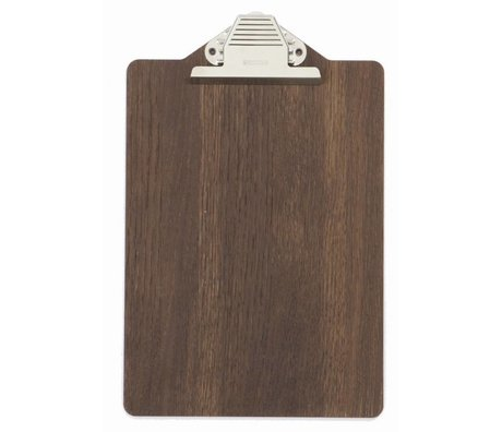 Ferm Living Clipboard 23x31.5cm de bois brun