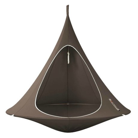 Cacoon Hangstoel Double 2-person tent taupe brown 180x150cm