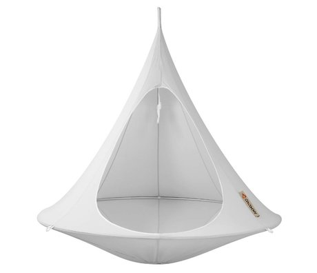 Cacoon Hangstoel Double 2-person tent grijs180x150cm
