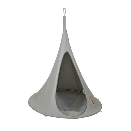 Cacoon Hangstoel tent Bonsai gray 125x120cm