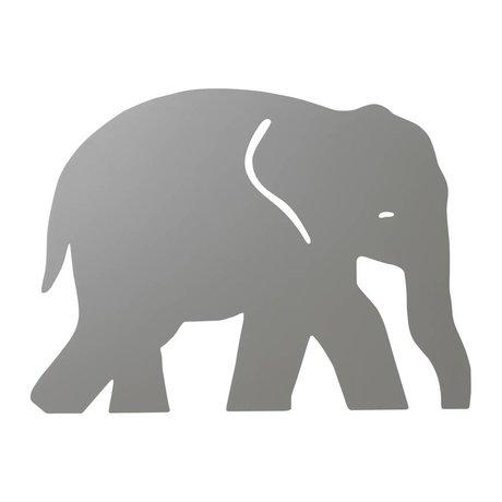 Ferm Living Wandlamp Elephant Warm grijs hout 6x35,4x26cm