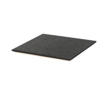 Ferm Living Tray for Plant Box black wood 26x26x1,2cm