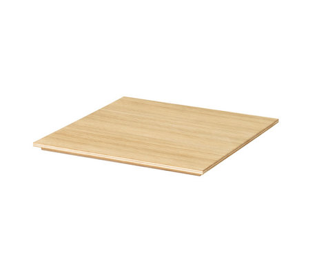 Ferm Living Tablett für Plant Box geölt Eiche Naturholz 26x26x1,2cm