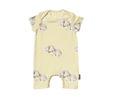 Snurk Beddengoed Romper Little Lambs cotton size 62