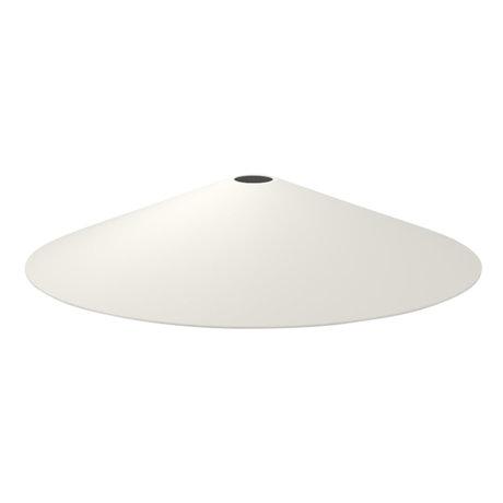Ferm Living Lampenkap Angle licht grijs metaal Ø10,5x58cm