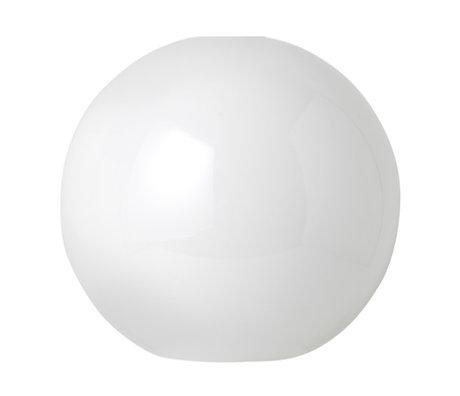 Ferm Living Lampshade Opal Sphere white glass Ø25x23,6cm