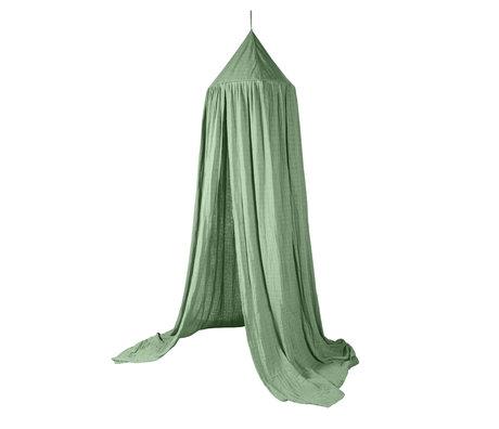 Sebra Moustiquaire coton vert mousse 240x52cm