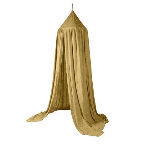Sebra Mosquito net honey mustard yellow cotton 240x52cm