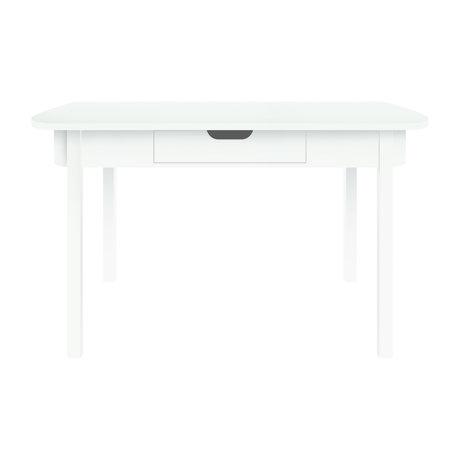 Sebra Bureau Bureau bois blanc 100x60x73.5cm