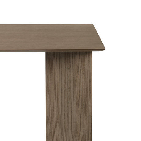 Ferm Living Tabletop Mingle Desk dark stained brown wood linoleum 135cm