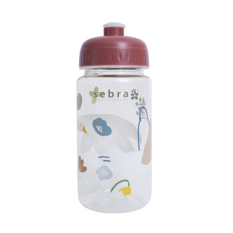 Sebra Drinking bottle Singing birds plastic 7x17cm
