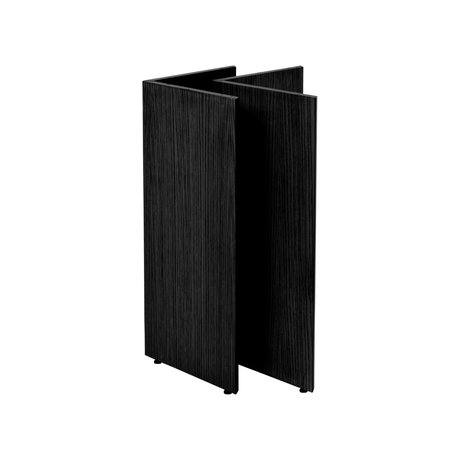Ferm Living Table legs Mingle W48 black wood 58x29.4x71.6 cm