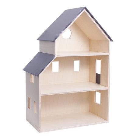 Sebra Maison de poupée en bois 39x22x60.1cm