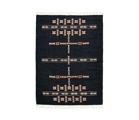 Housedoctor Rug Mila black textile 200x140cm