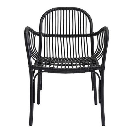 Housedoctor Chair (garden) Brea black PE Aluminum 71x5x61x69cm