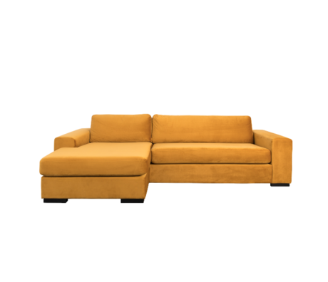 Zuiver Canapé d'angle Fiep gauche ocre jaune 275x152 / 97x80cm