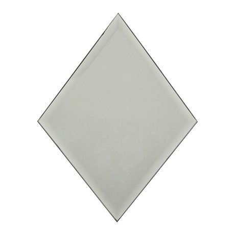 Housedoctor Spiegel Diamond grijs glas 16x22cm