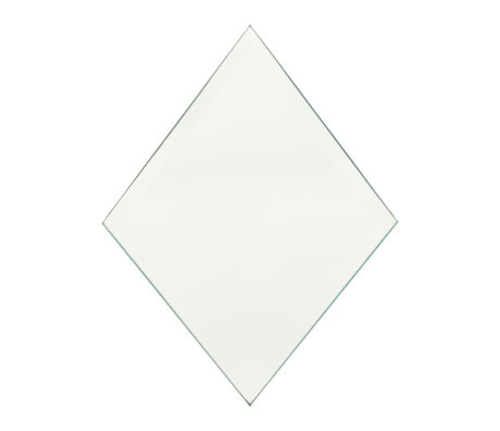 Housedoctor Mirror Diamond clear glass 16x22cm