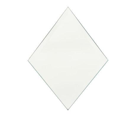 Housedoctor Spiegel Diamond clear glas 16x22cm