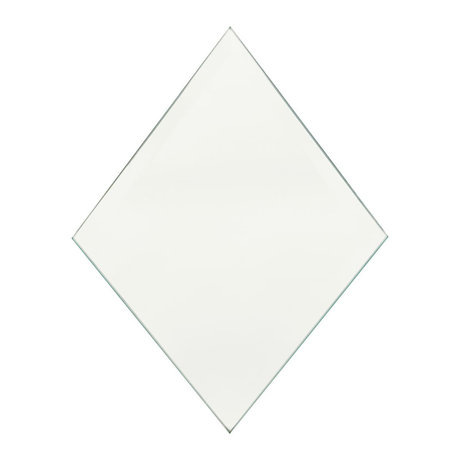 Housedoctor Mirror Diamond clear glass 16x22cm set of 4