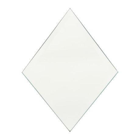 Housedoctor Spiegel Diamant Klarglas 16x22cm 4er Set
