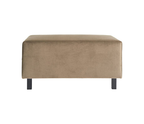 Housedoctor Hocker sofa element sand brown 85x60x44cm