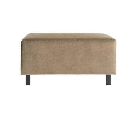 Housedoctor Hocker sofa element zand bruin 85x60x44cm