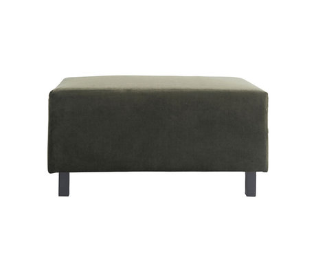 Housedoctor Hocker Sofa Element grün 85x60x44cm