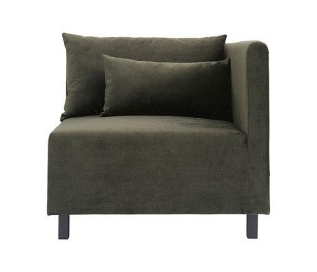Housedoctor Sofa Sofa Element grüne Ecke 85x85x77cm