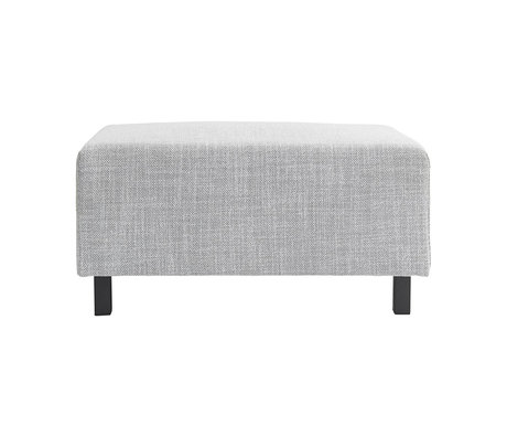 Housedoctor Hocker sofa element light gray 85x60x44cm